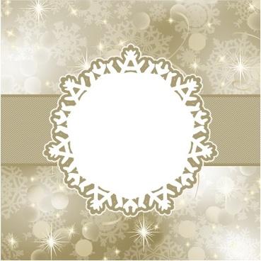 snowflakes shading pattern vector