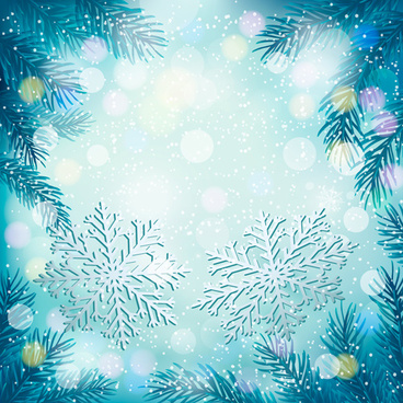 snowy vector backgrounds art 4