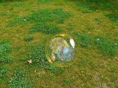 soap bubble huge large
