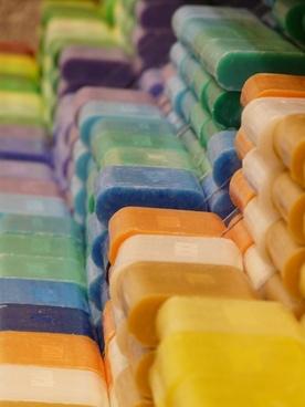 soap colorful color