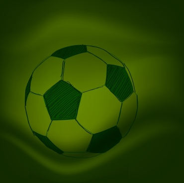 soccer ball background dark sketch