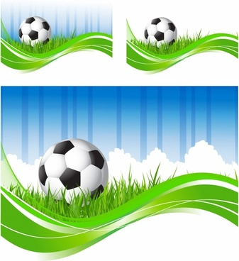 Soccer flow backgrounds