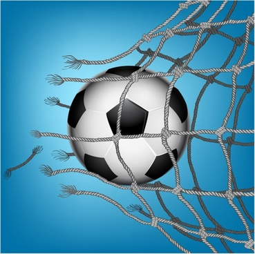 Soccer Goal breaking through the net