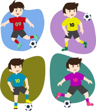 Soccer Player Vector Free Vector Download 880 Free Vector For