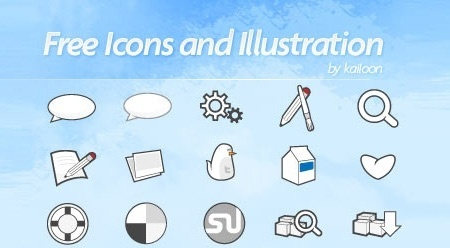 free icons collection various black white shapes sketch