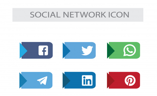 social media icons social network icons pack
