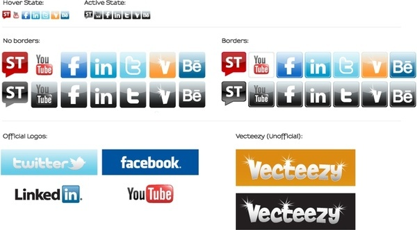 Social Media Icons - Starter Kit