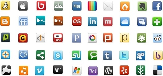 The Social Network Icon Pack icons pack