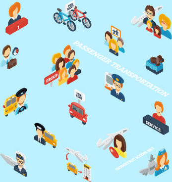 social with profession people vector
