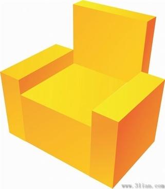 sofa icon vector