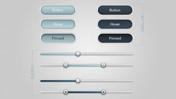 Soft Buttons and Sliders