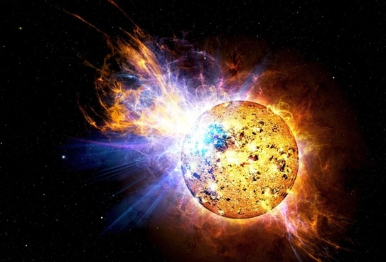 solar flare flare explosion