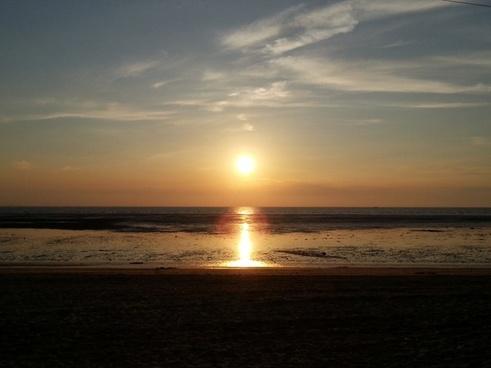 solar glow beach