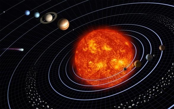 solar system planet planetary system