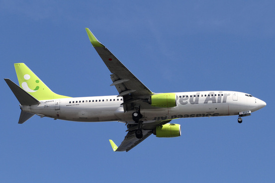 solaseed air b737 800ja802x