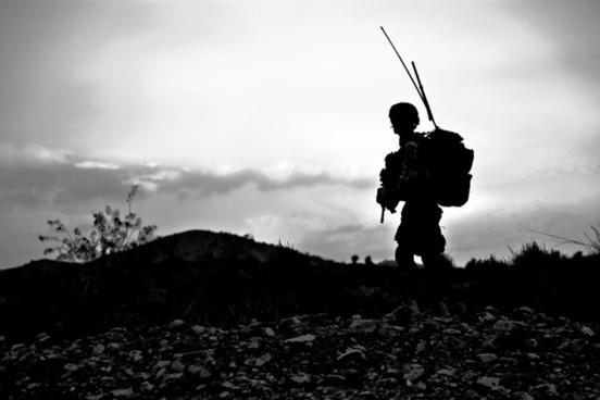 soldier military uniform
