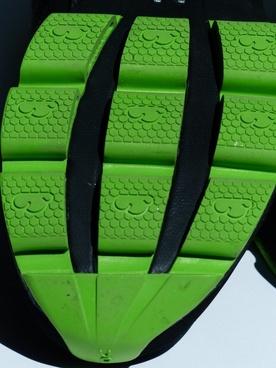 sole green rubber