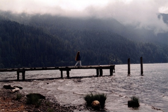 solitude on a dock