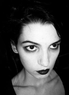 some goth chick