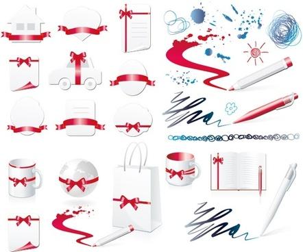 some practical design elements vector