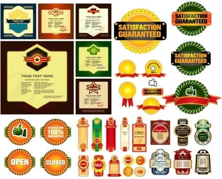 some practical sales discount decorative graphics vector