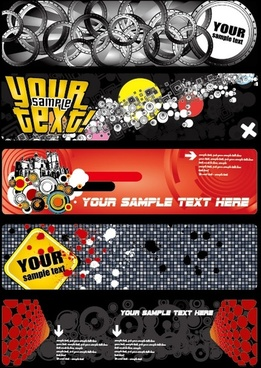 some special banner vector background