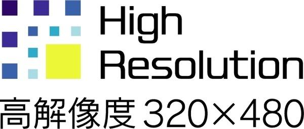 sony clie high resolution