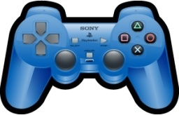 Sony Playstation Blue