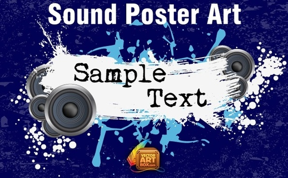 Sound Poster Art