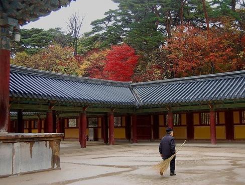 south korea temple religion