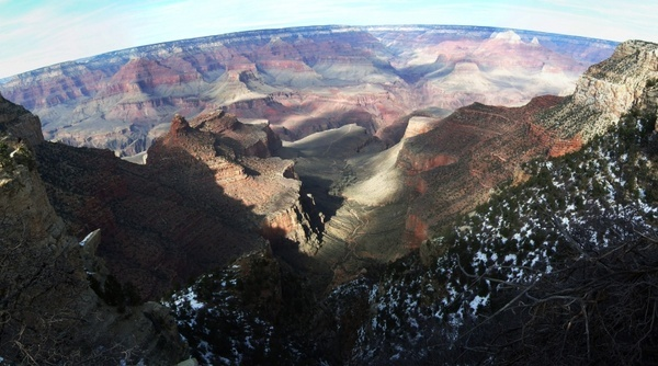 south rim grand canyon panorama