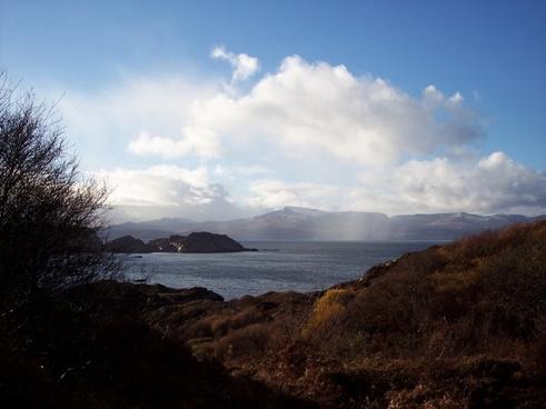 south rona scotland sea
