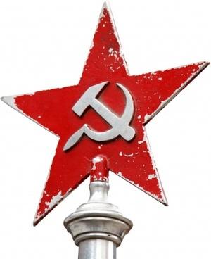 soviet symbol isolated