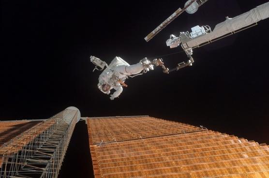 space astronaut space-suit