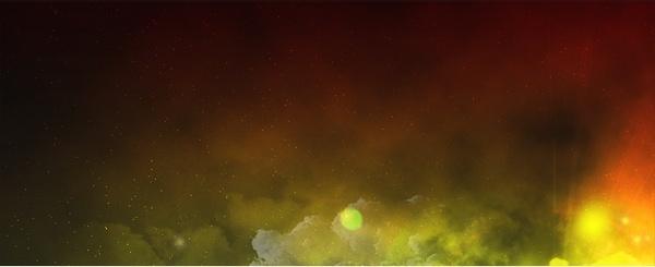 Space Nebula Graphic