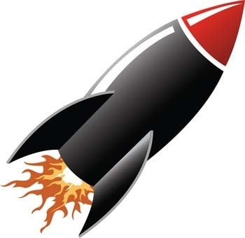 Space Rocket Vector 5