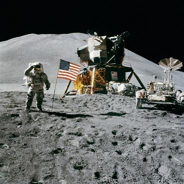 space station moon landing apollo 15