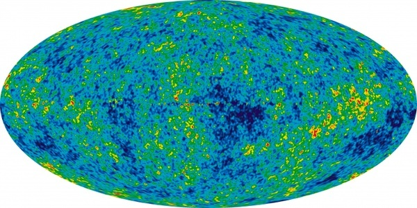 space universe background radiation