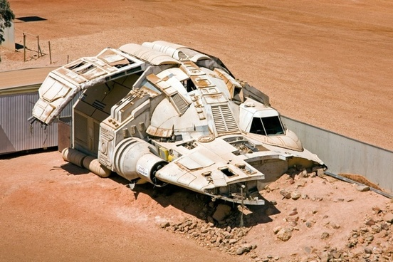 spaceship science fiction coober pedy