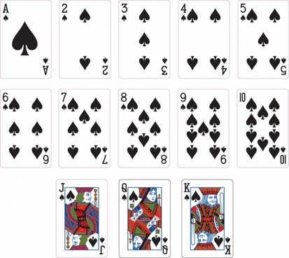 photo relating to Printable Playing Cards identified as Taking part in playing cards shots down load totally free vector down load (14,667