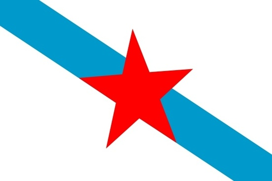 Spain Galiza Nationalists clip art