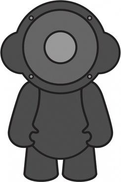 Speaker Doll