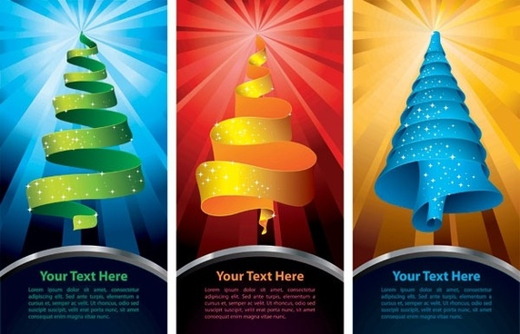 special christmas tree vector