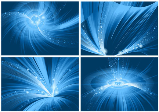 special dazzling blue background vector art