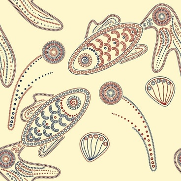 special kind of animal design pattern vector 3