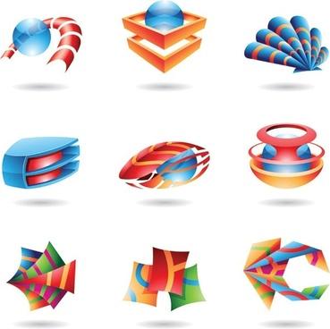 special threedimensional icon vector