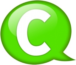 Speech balloon green c