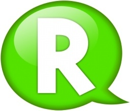 Speech balloon green r
