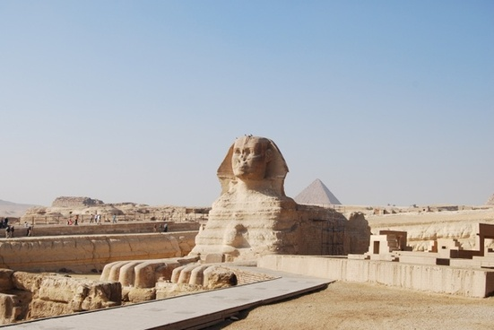 sphinx gizeh egypt