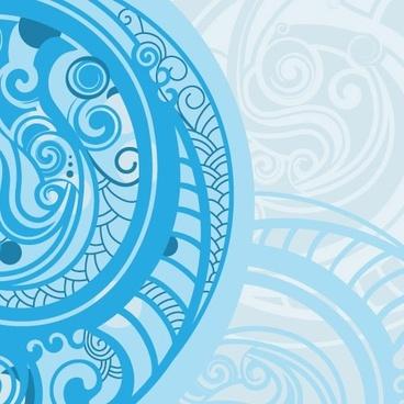 spiral pattern background 01 vector